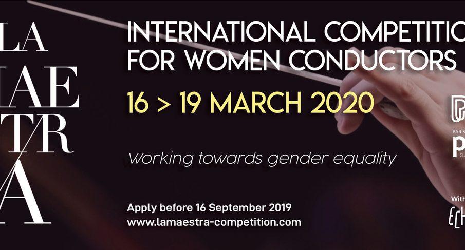 LA MAESTRA  Διεθνής Διαγωνισμός  για γυναίκες–μαέστρους